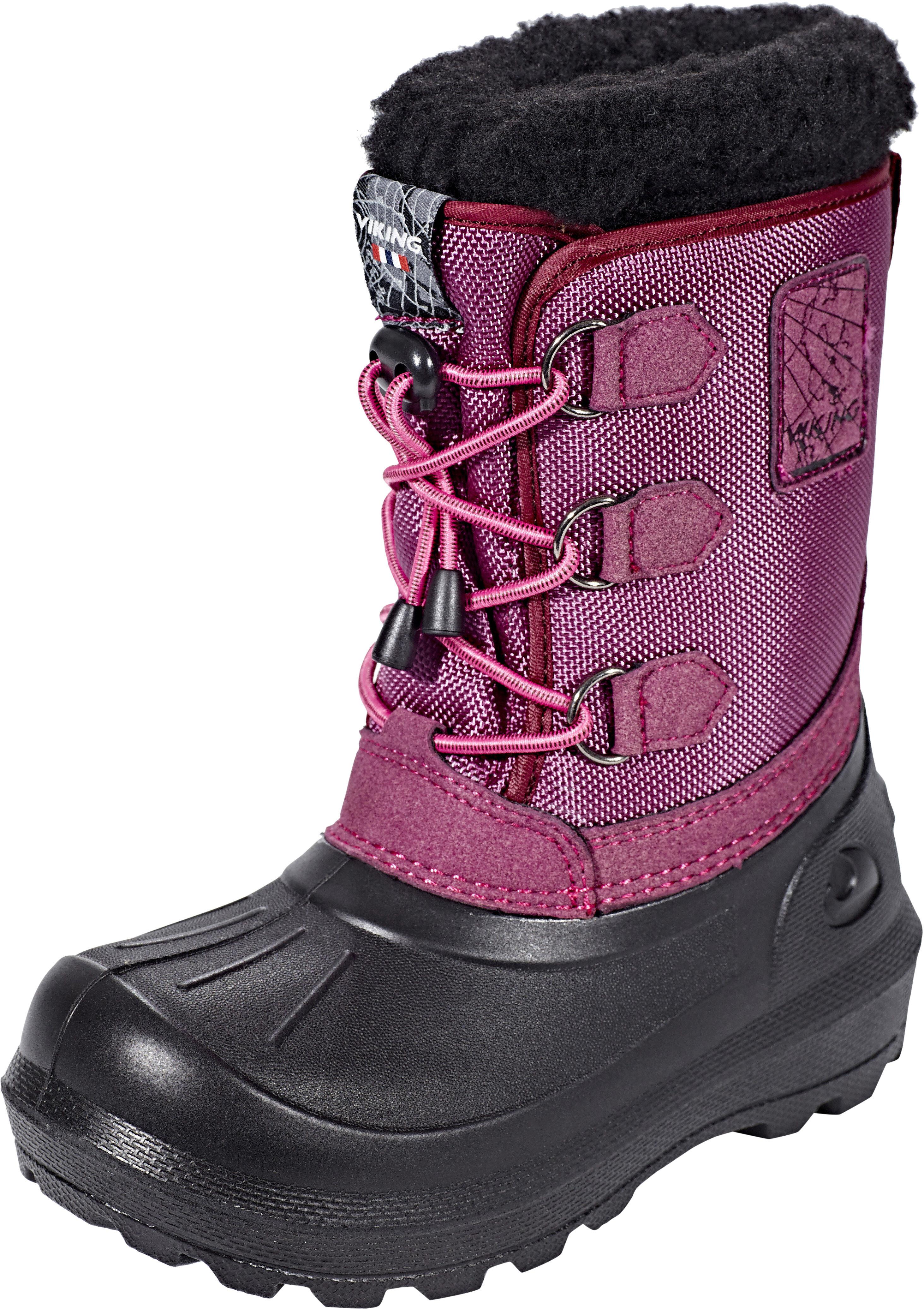 dc9a2739 Viking Footwear Istind Støvler Børn, dark pink/black | Find ...